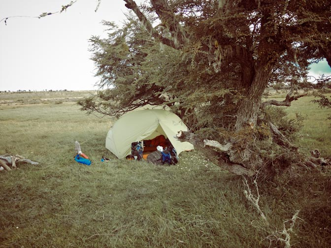 Sheltered from the wind in the delta of Rio Grande