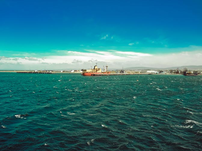 Port of Punta Arenas.