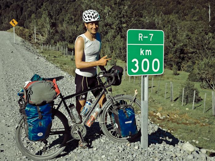 300km von was - egal. Man beachte die Steingröße.