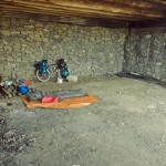 Nachtlager am Refugio.