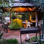 Camping Mendoza, was für ein Luxus.