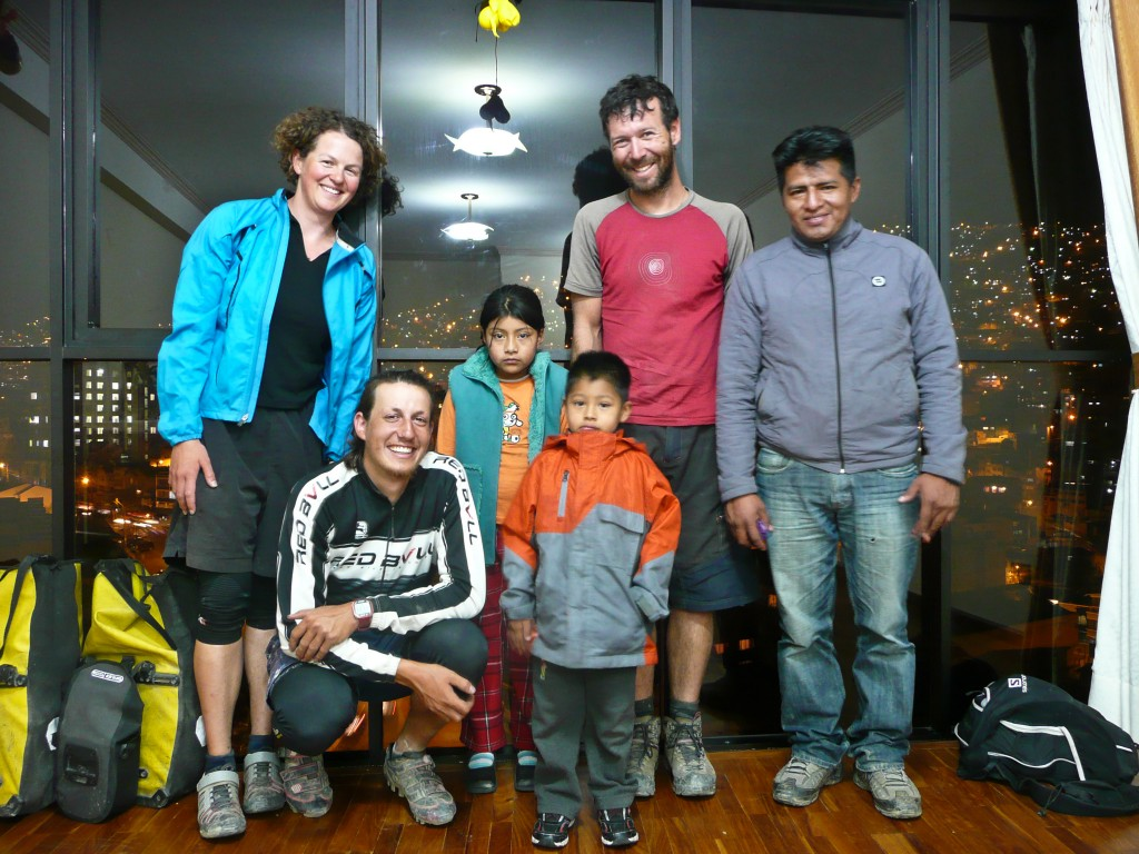 ...and a hitchhike back to La Paz (including a dinner invitation).
